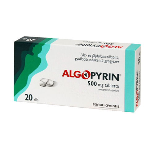 ALGOPYRIN mg tabletta - Gyógyszerkereső - Háhoppalmihaly.hu